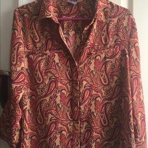Laura Scott button down blouse